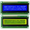 JHD LCD Displays - Yellowish Green and Blue Color
