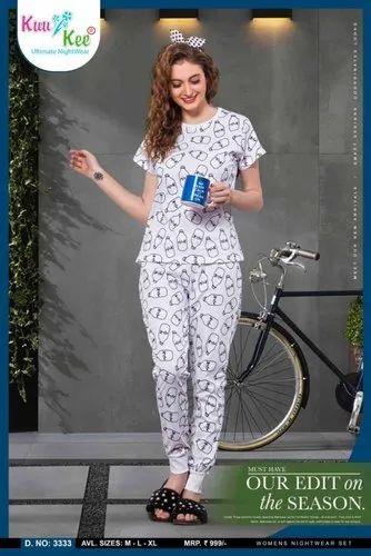 ba4ff02d7e Women Casual Wear Hosiery Pajama Set