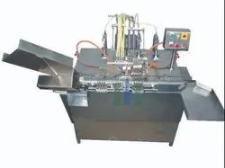 Four Head D Type Closed Ampoule Filling And Sealing Machine