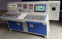Three Phase Drum Mix Plant Control Panel - Control Panel Board, Road Construction Machinery