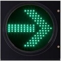 Traffic Signal Light Green Arrow
