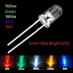 cool white Round Bright LED