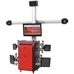 Semi-Automatic Wheel Alignment Machine, For Automobile Industry, 500 W