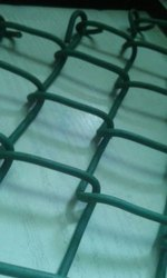 PVC COATED CHAIN LINK MESH FENCE, For Garden
