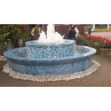 Stone Garden Foam Fountain