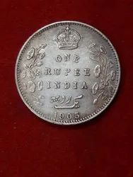 Old Silver Coins 1905