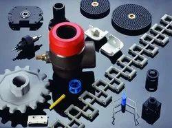 Hi-Tech Multicolor Industrial Plastic Components