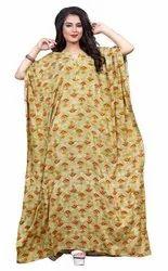 Women Long Ankle Length Rayon Kaftans
