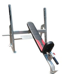 Black and Red Weight Lifting Bench, For Gym, 35 Kg