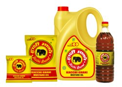 Hathi Brand - Kacchi Ghani Mustard Oil, Packaging Type: Plastic Bottle, Packaging Size: 1 litre