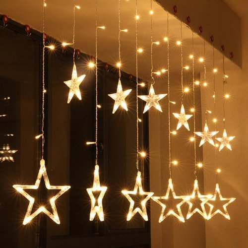 Star Lights Curtain Led Light With 8 Modes