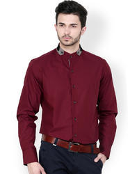 Solid Full Sleeve Formal Shirts