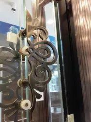 Brass Finish Door Handle