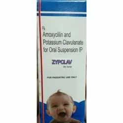 Amoxycillin And Potassium Clavulanate For Oral Suspension Syrup