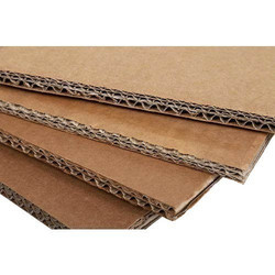 Sterling Packaging Brown Corrugated Cardboard Sheets, 4 To 5 Ply