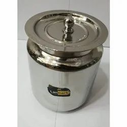 Stainless Steel Silver SS Pickle Jar, for Kitchen, Packaging Type: Box