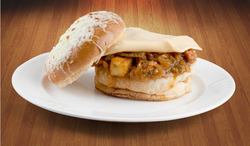 Paneer Chilly Burger