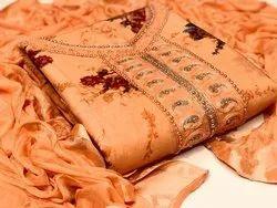 REEVA IMPEX Cotton DESIGNER FANCY SUIT, Handwash