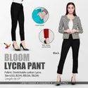 Ladies Bloom Cotton Lycra Pant