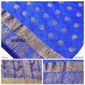 Designer Kanjivaram Weaving Saree With Blouse