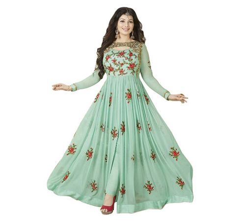 dd1f2cf02ab Embroidered Semi-Stitched Anarkali Suit (TAG1332) at Rs 1499  piece ...
