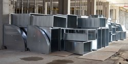 Industrial Galvanized Iron Ducting Systems/Duct Works, for Exhaust