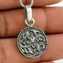 Paradise Bloom 925 Sterling Silver Pendant