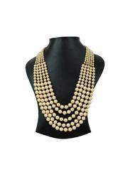 Ankur Astonishing Five Layer Pearl Necklace For Women
