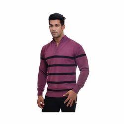 Maxecel Full Sleeves Men's Striped Pullover