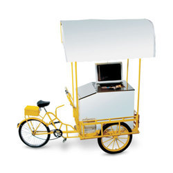 Push Cart Freezer