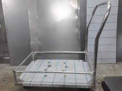 Steel Platform Trolley with Grill -HSP24