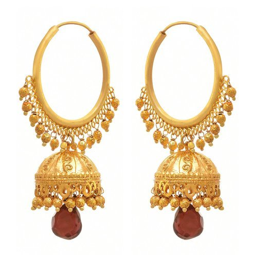 010a09469 Gold Jfl -traditional Ethnic One Gram Plated Designer Jhumki, Rs 829 ...