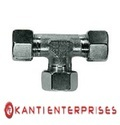 Ke Brass And Stainless Steel Union Tee (din 2353), Size: 1 Inch And 2 Inch