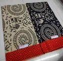 Mama Prints Multicolor Jaipuri Printed Cotton Dress Materials