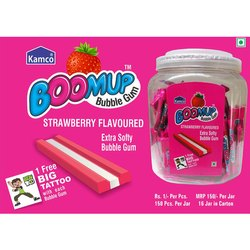 Kamco Strawberry Boomup Bubble Gum