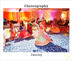 Choreography And Dancing Service