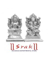 Parad Lakshmi Ganesh Murti