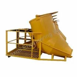 Concrete Bucket With Safety Cage