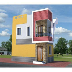 3D Front Elevation Design