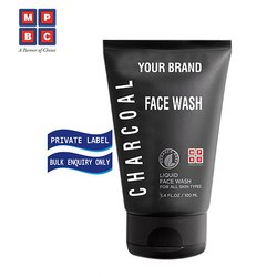 OEM or Private Label Charcoal Face Wash