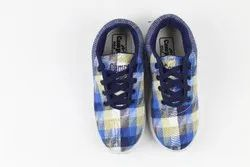 White And Blue Casual Camps Sports Shoes
