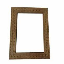 Wooden Stylish Carving Photo Frame