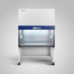 Biosafety cabinet laminar flow