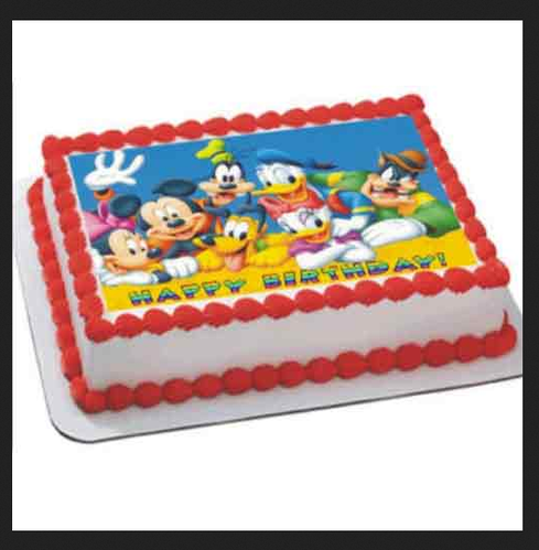 2 Kg Disney Cartoons Cake