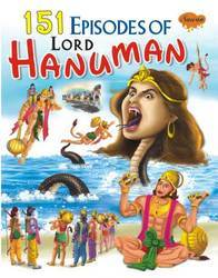 151 Episodes Of Lord Hanumana Book