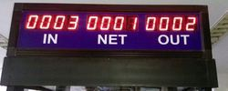 Head Count System LED Display