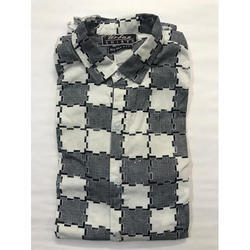 Cotton Full Sleeves Checked Casual Shirt