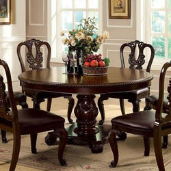 Shreeji Lining Works Brown Antique Dining Table