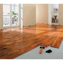 Brown Imported Wooden Flooring