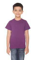 Boy's Solid Round Neck T-Shirts